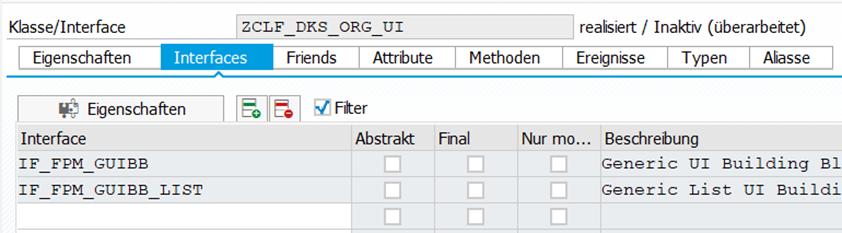 Die Interfaces IF_FPM_GUIBB und IF_FPM_GUIBB_LIST werden an der Feederklasse hinterlegt