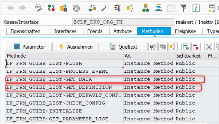 Ein Instance Attribut MT_HRP1000 wird an der Feederklasse hinterlegt