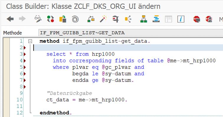 """Beispielimplementierung der """"GET_DATA""""-Methode"""