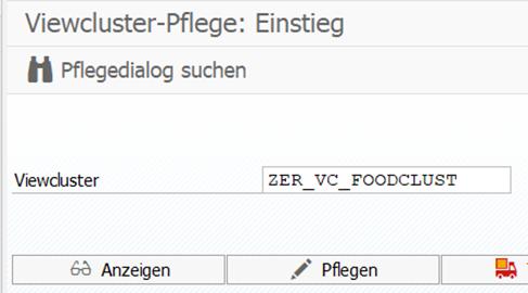 Übersichtliches Customizing durch Viewcluster in der Transaktion SM34