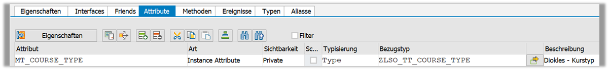 Anlage in Shared Memory Objects Instanz-Attributen