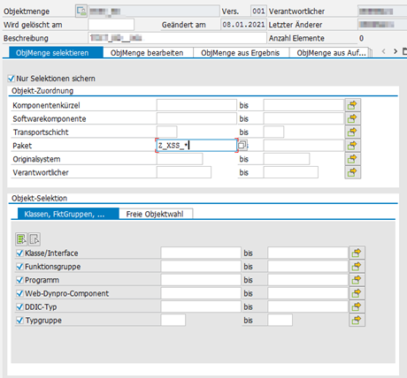 Objektmenge-screenshot